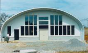 Your Pioneer Steel Building can have an overhang.