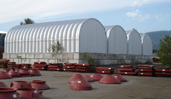 Pioneer Steel Buildings can be built on a wide range of foundations.