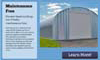 maintenance free steel buildings